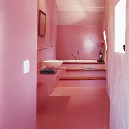 pink bathrooms decor ideas
