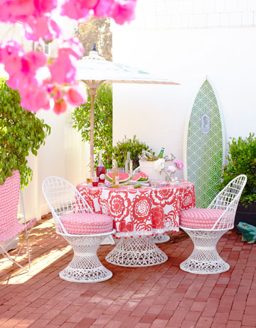 roof terrace furniture