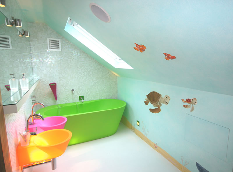 kids bathroom ideas pictures home designs project On bathroom designs for kids