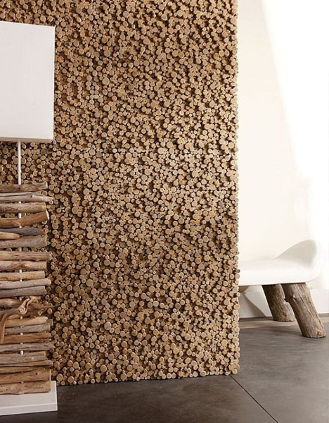 wood wall decorating ideas