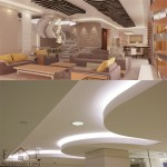 3D and suspended ceilings