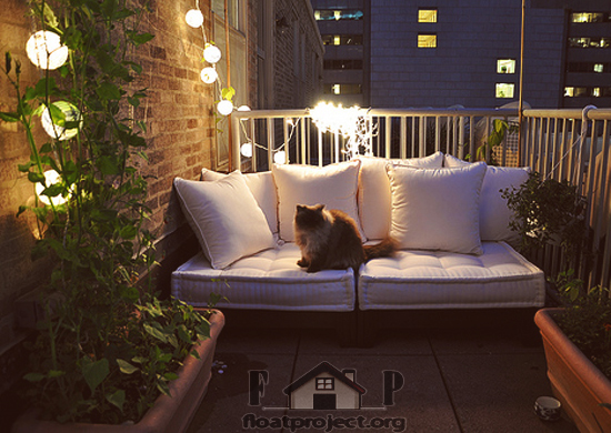 Balcony transformation in no time