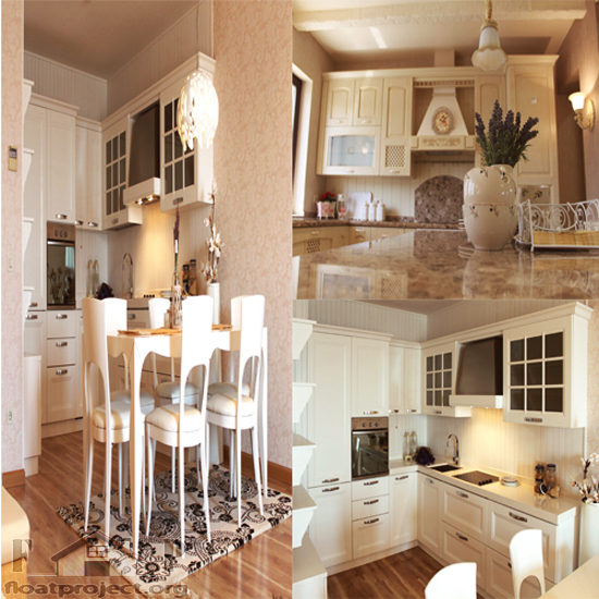 beige kitchen design