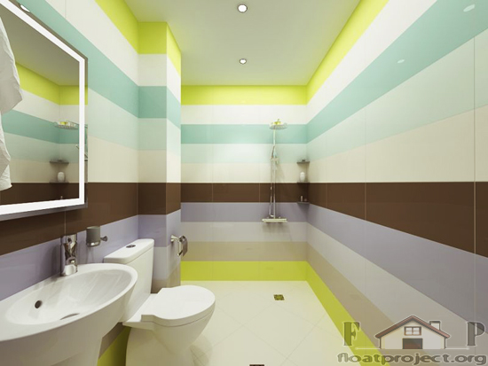 Coloful bathroom ideas