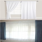 sheer cotton curtains