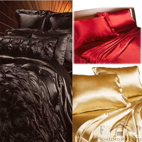 satin bedding set