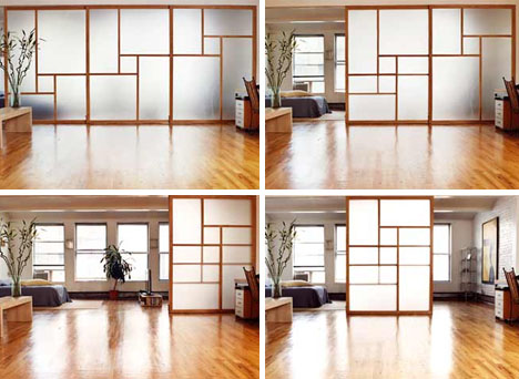 Transparent walls – adding elegance to your interior