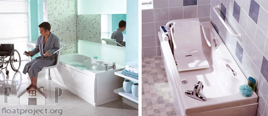 Adapting Your Home For An Older Or Disabled Person Home Designs - Bathroom modifications for disabled