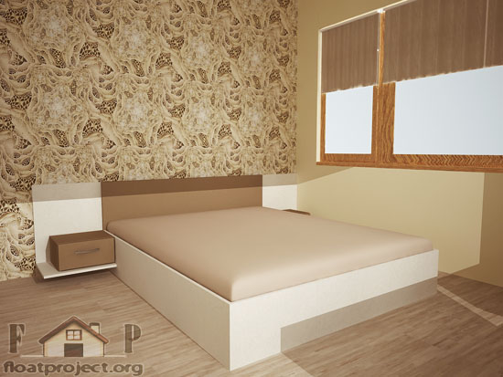 beige bedroom design