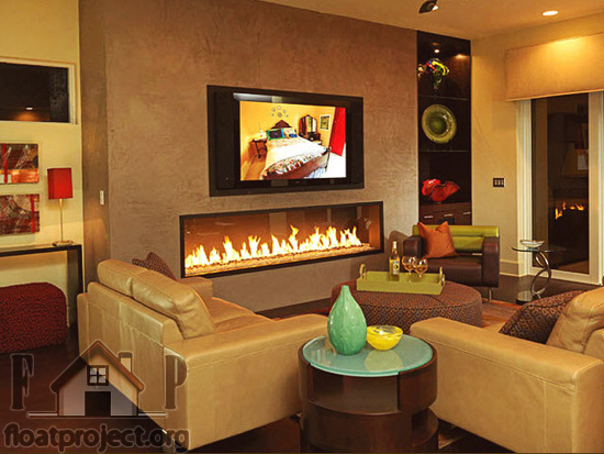 Contemporary fireplace design ideas