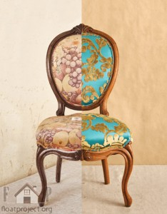 reupholster the old chairs