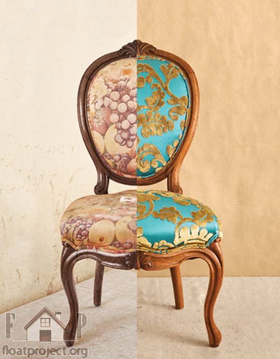 How to reupholster your chairs