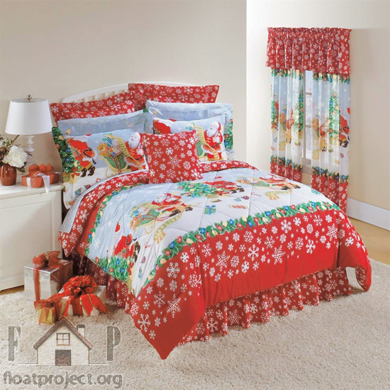 Unique christmas decoration ideas for kids bedroom home for Christmas bedroom
