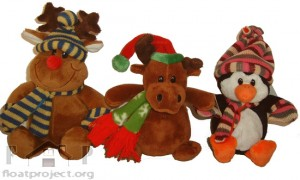 Christmas stuffed toys