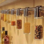 hanging spice containers