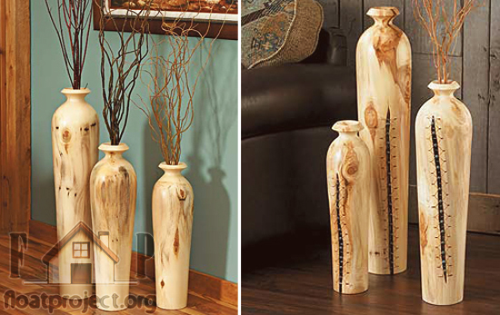 decorative floor vases