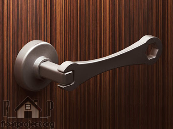 Creative door knob and door handle designs home designs for Door knob design house