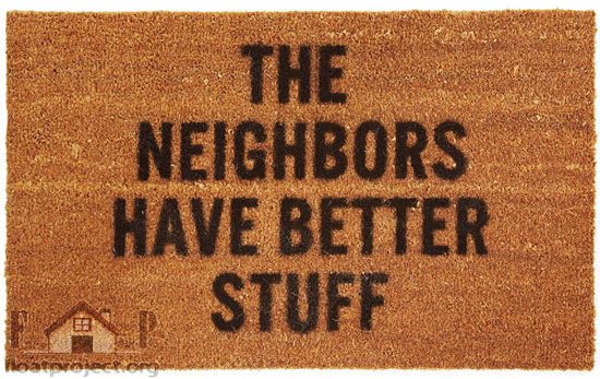 doormat for thieves