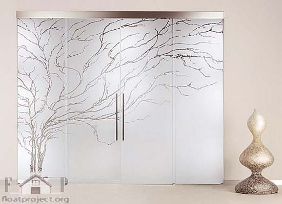Glass Interior Doors Home Designs Project