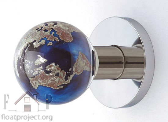 glass door knob