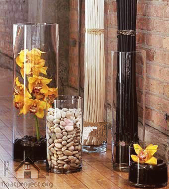 Glass Vase Home Designs Project