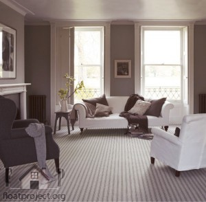 gray fitted carpet