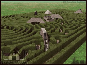 Hedge maze home designs project for Garden maze designs