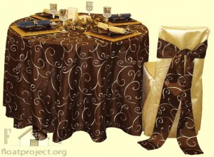 luxury tablecloth