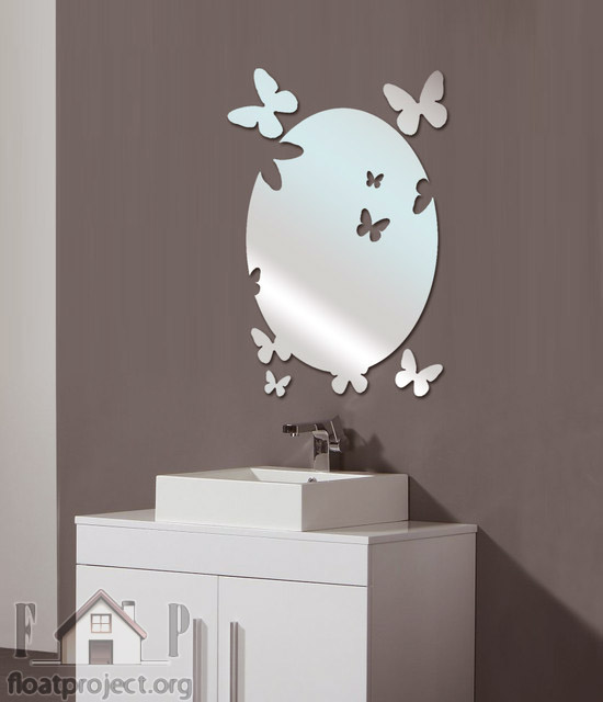 Mirror designs for the bathroom