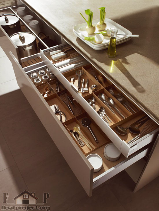 Cool Kitchen Drawers Home Designs Project