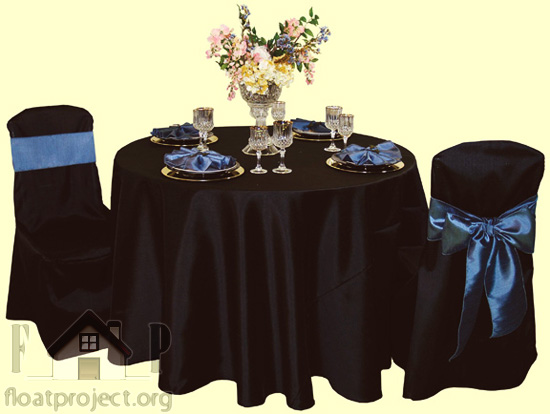 silk tablecloth