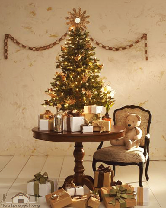 Unique christmas decoration ideas for kids bedroom home for Small designer christmas trees