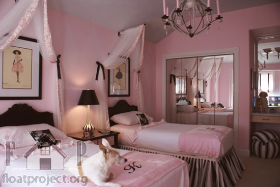 How to furnish and decorate Barbie style bedroom