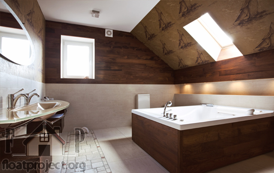 Renovate your bathroom with wallpapers