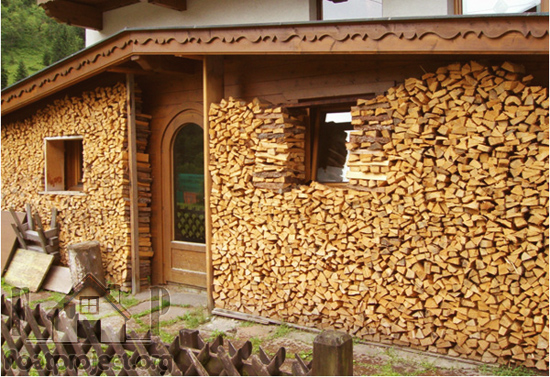 How to Stack and Protect Firewood for Winter