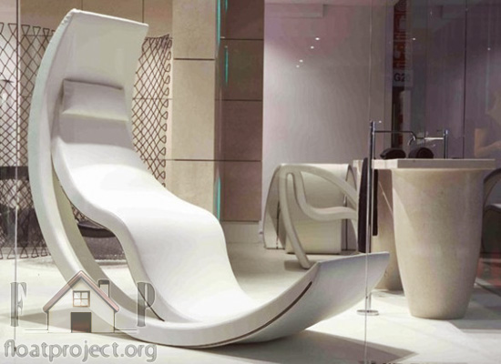 futuristic rocking chair design