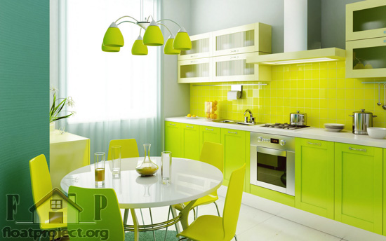 greem kitchen