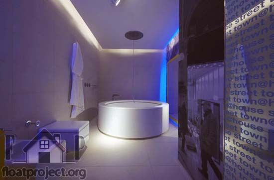 hi-tech bathroom