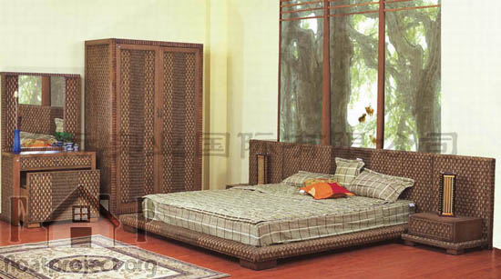 Rattan bedroom sets