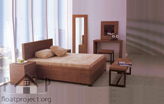 rattan bedroom set