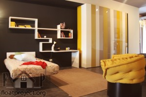 yellow in the bedroom