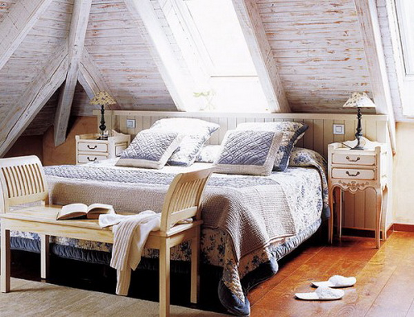 Four ideas for utilizing of the attic