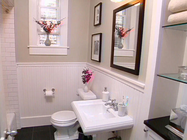 Quick bathroom remodeling on a budget