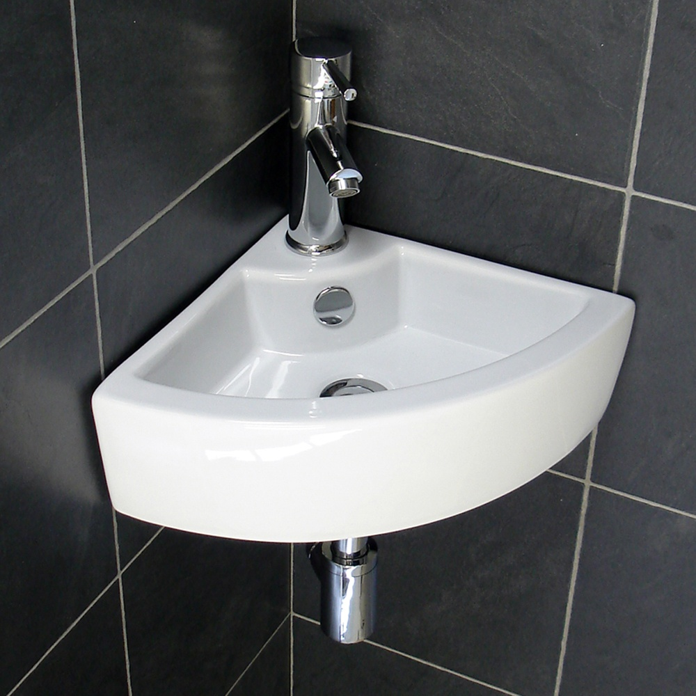 Small Bathroom Ideas With Corner Sink : Corner bathroom sink designs for small bathrooms home