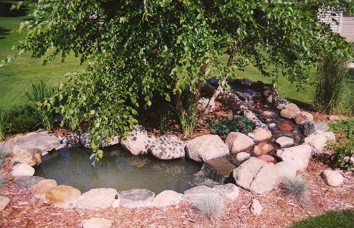 Artificial rocks for garden decoration home designs project for Rock ponds designs