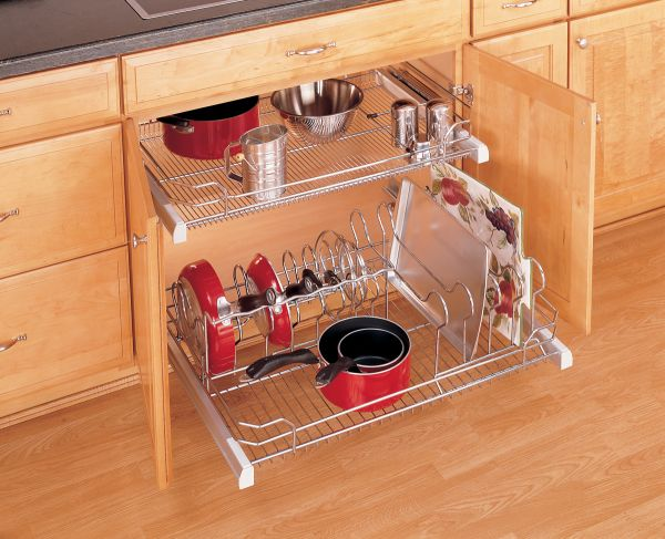 Five smart kitchen storage suggestions – cabinets and drawers