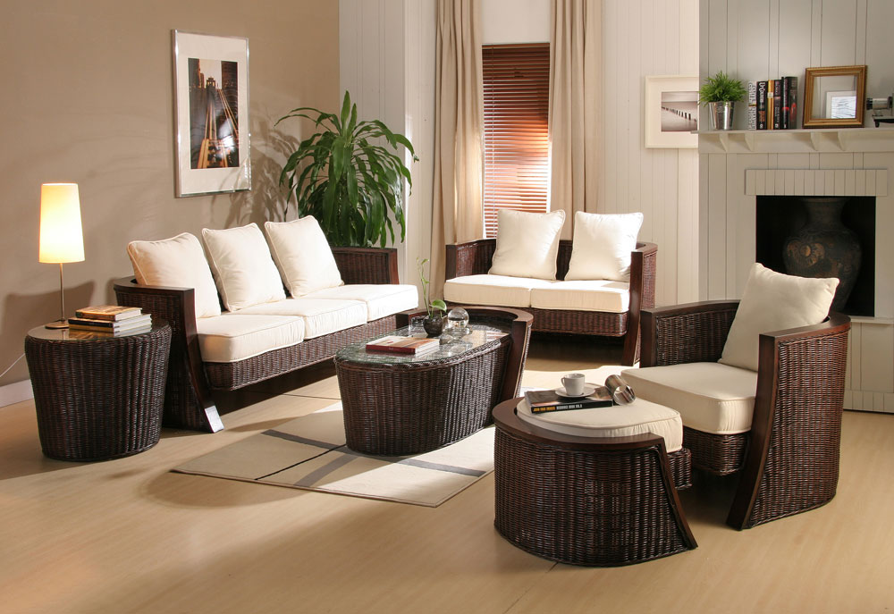 rattan living room design ideas home designs project