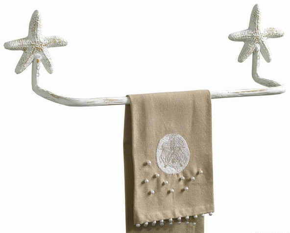 Beautiful bathroom towel holders