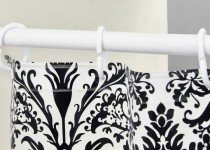 telescopic shower curtain rod