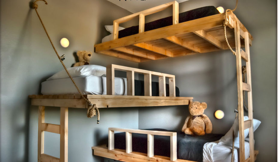 Shared kids' room designs for three or more children | Home Designs Project
